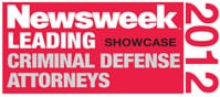 Newsweek Leading Showcase Criminal Defense Attorneys|2012